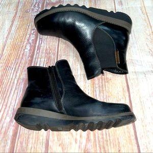 Josef seibel zip up ankle booties size men's 8 41